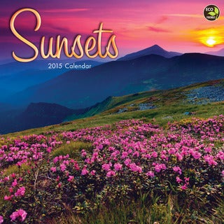 2015 'Sunsets' Wall Calendar
