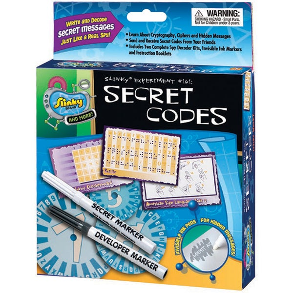 Secret Codes Kit