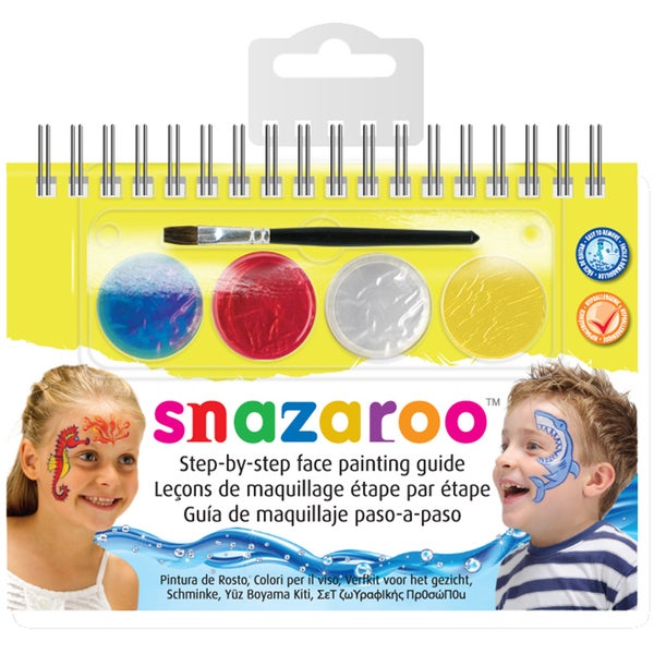 Snazaroo Step-By-Step Face Painting Kit-Sea Life