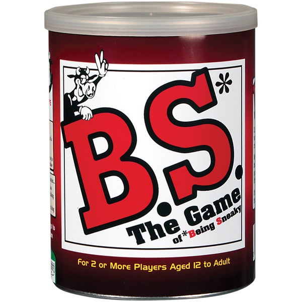 Party Games In A Can-B.S. The Game