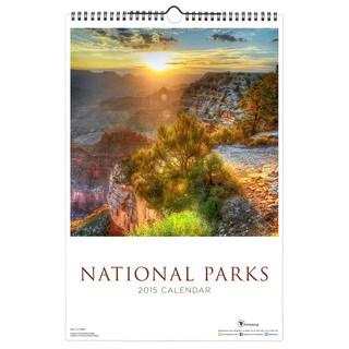 2015 'National Parks' Art Deluxe Wall Calendar