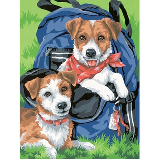 """Paint Works Paint By Number Kit 9""""X12""""-Backpack Buddies"""