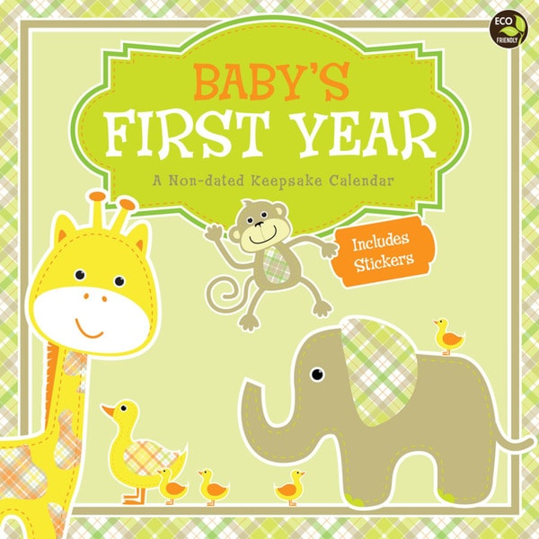 'Baby's First Year' Non-Dated Calendar