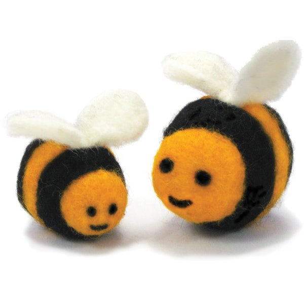 Feltworks Ball Bees Learn Needle Felting Kit