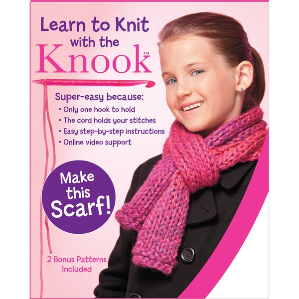 Learn To Knit Scarf Kit