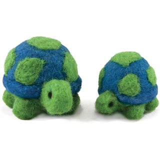 Feltworks Ball Turtles Learn Needle Felting Kit