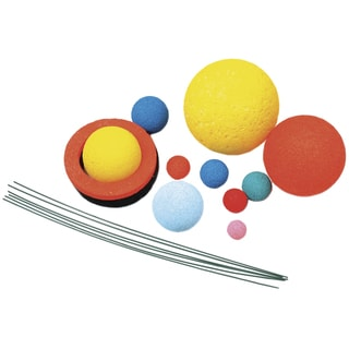 Styrofoam Solar System Kit-Painted
