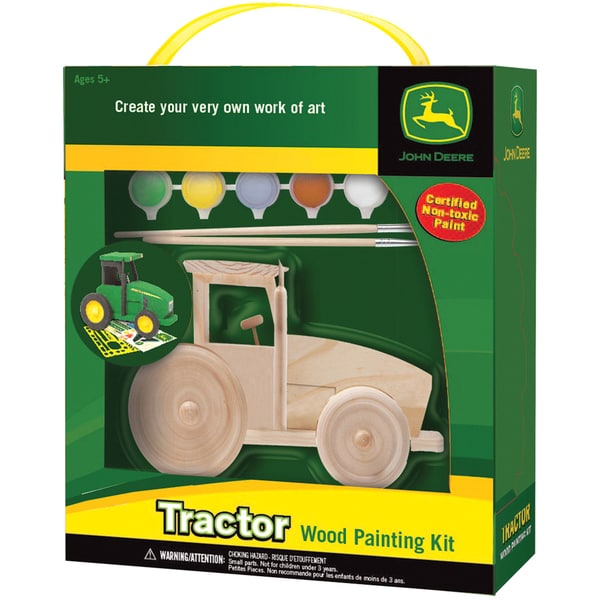 John Deere Wood Paint Kit-Tractor