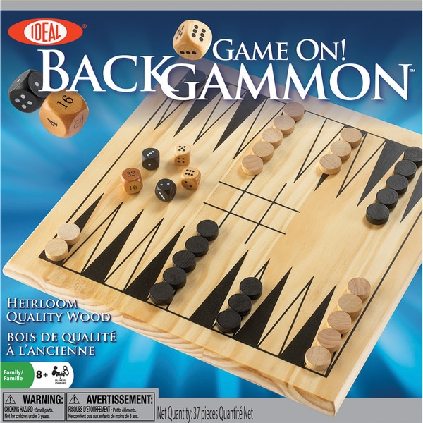 Game On! Backgammon Game