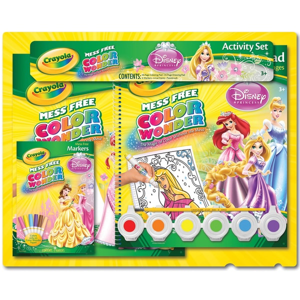 Crayola Color Wonder Activity Set-Disney Princess