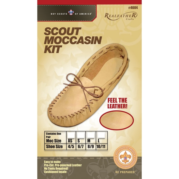 Leather Kit-Scout Moccasin-Size 8/9