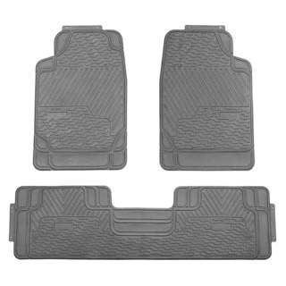 FH Group Grey All-weather Rubber Full Set Car Floor Mats