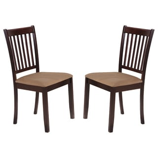 K&B Cappuccino Dining Chair (Set of 2)