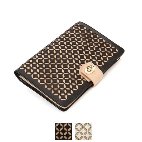 WOLF Chloe Leather Jewelry Portfolio