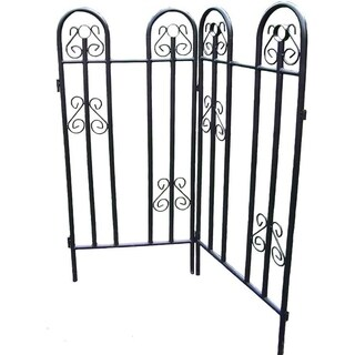 Extendable Garden Fence
