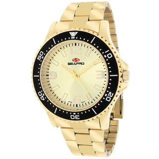 Seapro Men's SP5333 Tideway Round Goldtone Bracelet Watch