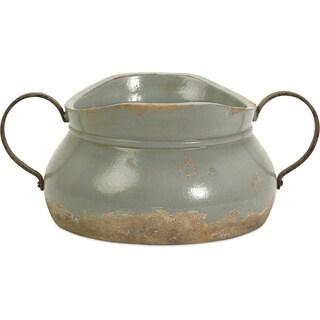 Calista Short Bowl W/ Metal Handle