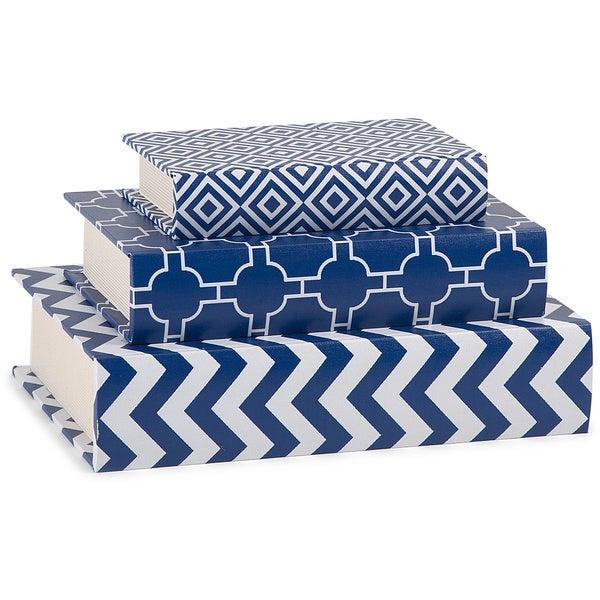 Essentials Book Boxes - Navy