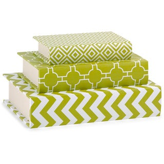 Essentials Book Boxes - Green