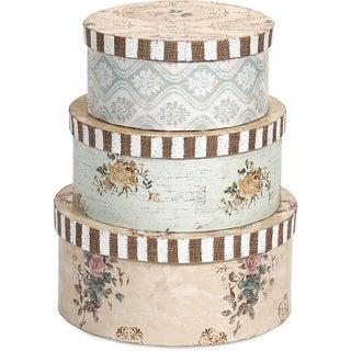 Ella Elaine Hat Boxes (Set of 3)