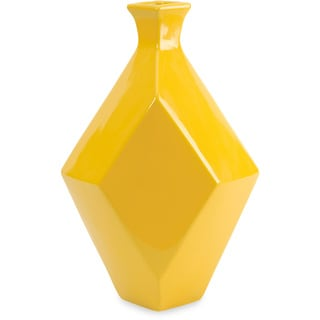 Chantal Medium Yellow Ceramic Vase