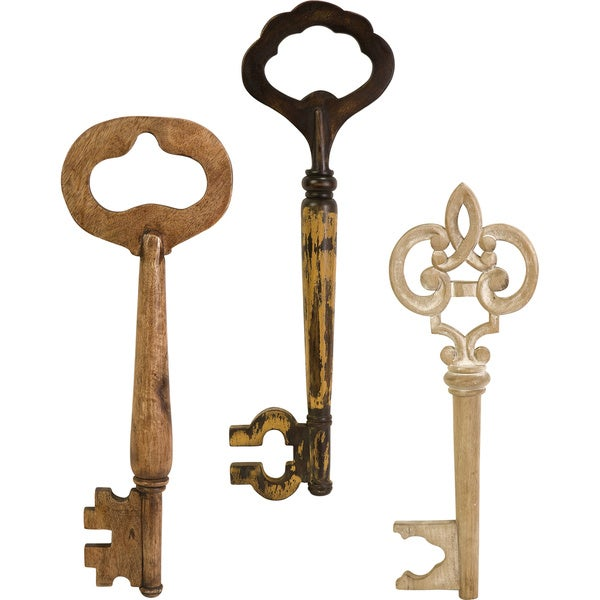 Mason Wood Wall keys (Set of 3)