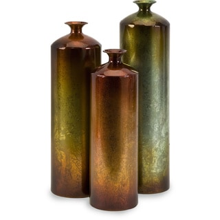 Tangerine Bottles (Set of 3)