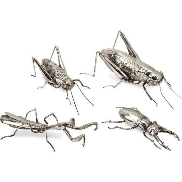Imax Butera Chrome Insects (Set of 4)