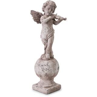 Imax Violin Angel Statuary