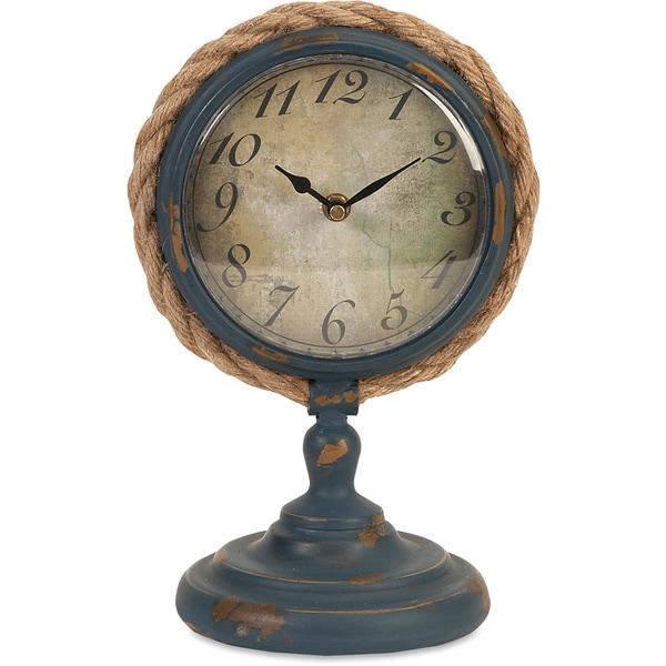 Imax Lewis Pedestal Clock