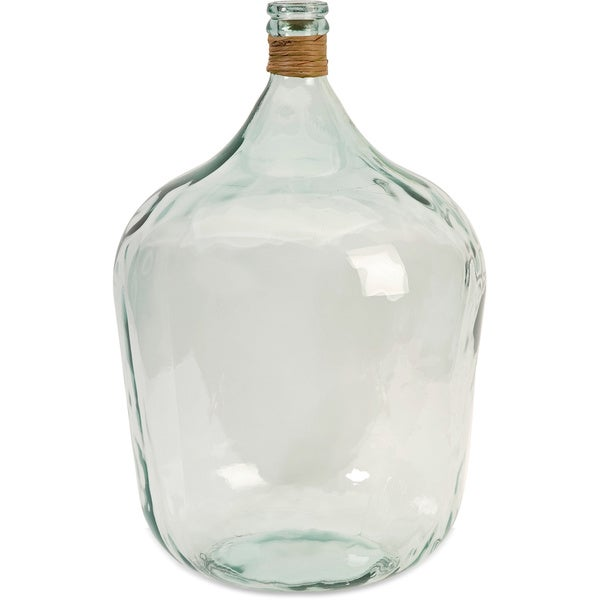 Boccioni Large Recycled Glass Jug 16841542 Overstock
