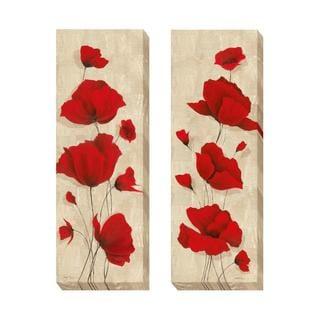 Tava Studios 'Favorite Blossoms I and II' 2-piece Canvas Set