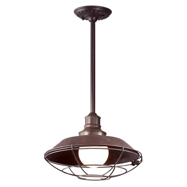 Troy Lighting Circa 1910 1-light Outdoor Hanging Downlight