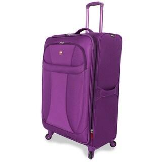 Wenger Lightweight Purple 29-inch Upright Spinner Suitcase