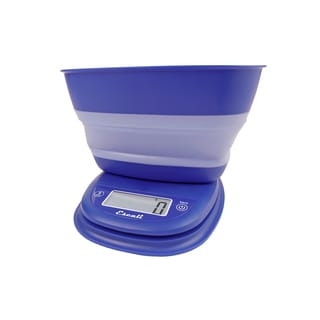 Pop Collapsible Bowl Scale, Blue