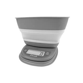 Pop Collapsible Bowl Scale, Gray