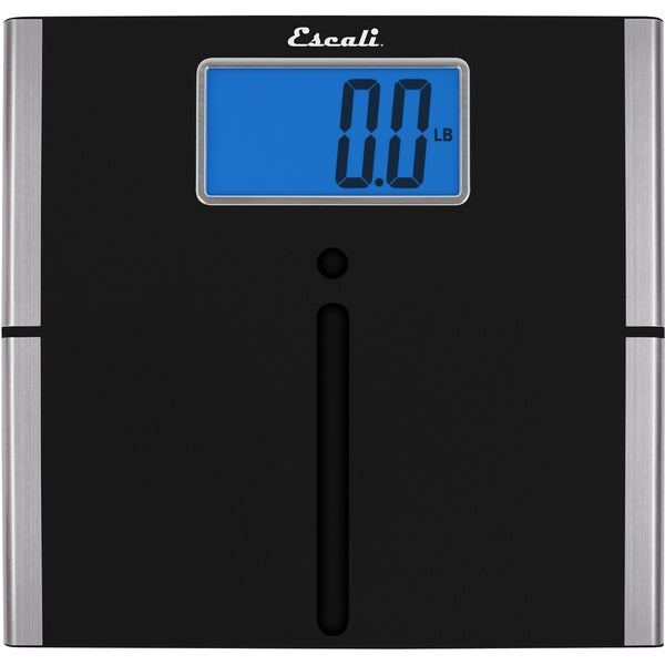 Escali Black XL Digital Display Body Scale