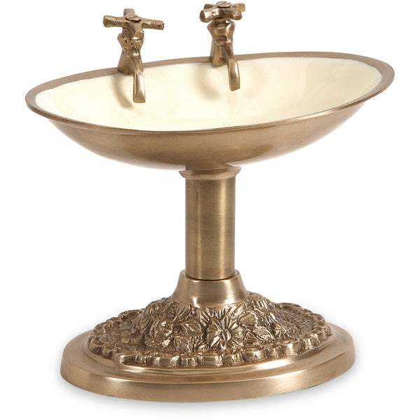 Julian Bath House Brass Soap Dish
