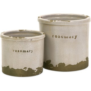 Rosemary Herb Pots (Set of 2)