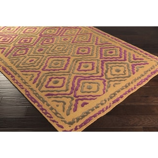 Hand Knotted Joey Wool Rug (5' x 8')