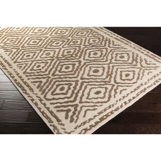 Hand Knotted Ben Wool Rug (5' x 8')