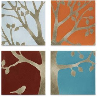 Meadow Terracotta Wall Tiles (Set of 4)
