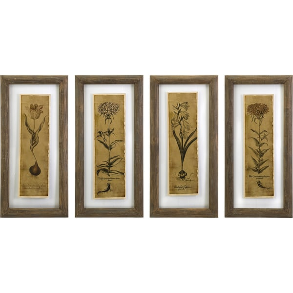 Cassander Double Glass Print Wall Art Set Of 4 image