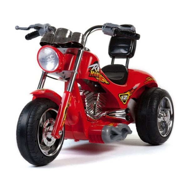 Mini Motos Red Hawk Motorcycle 12v Ride On Car