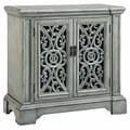 Audra Entry Cabinet with Carved Door Fronts