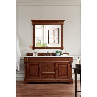 Brookfield Warm Cherry Single Cabinet Vanity
