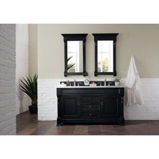 Brookfield Antique Black Double Vanity