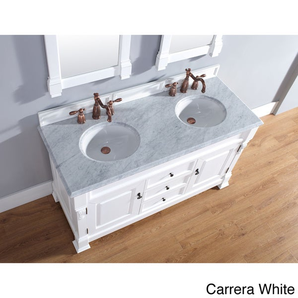 Brookfield cottage double vanity overstocktm shopping for James furniture and mattress deals