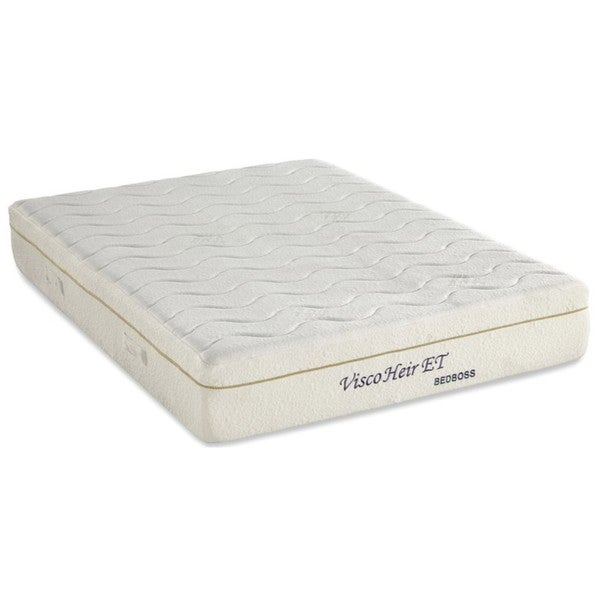 Bed Boss Visco Heir 11-inch Queen-size Memory Foam Mattress with 2 Bonus Pillows