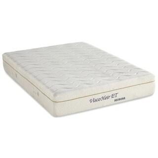 Bed Boss Visco Heir 11-inch King-size Memory Foam Mattress with 2 Bonus Pillows